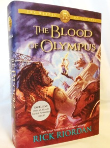Blood of Olympus by Rick Riordan