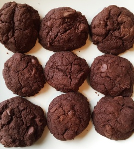 chocolate cookies cropped