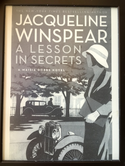 Maisie Dobbs: A Lesson in Secrets