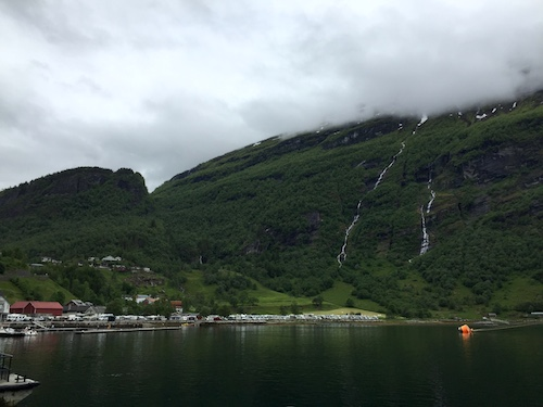 fjord camping